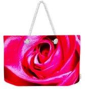 Timeless Red Rose Weekender Tote Bag
