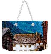 Timeless Watercolor Weekender Tote Bag
