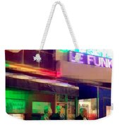 Times Square At Night - Le Funk Weekender Tote Bag