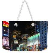 Times Square In 2010 Weekender Tote Bag