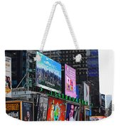 Times Square - Looking South Weekender Tote Bag