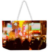 Times Square - The Lights Of New York Weekender Tote Bag