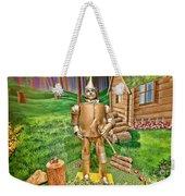 Tin Man Weekender Tote Bag