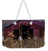 Tin Roof Rusted Weekender Tote Bag by Bill Cannon