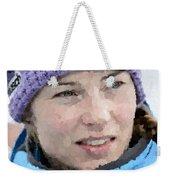 Tina Maze Weekender Tote Bag