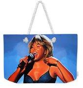 Tina Turner Queen Of Rock Weekender Tote Bag