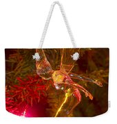 Tinker Bell Christmas Tree Landing Weekender Tote Bag