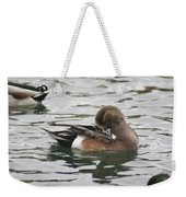 Tiny Duck Cleaning 4   # Weekender Tote Bag