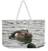 Tiny Duck Cleaning 1 Weekender Tote Bag