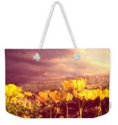 Tiny Flowers Weekender Tote Bag by Bob Orsillo