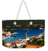 Tiny Inlet Weekender Tote Bag by Andrew Paranavitana