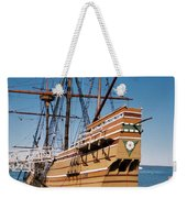 Tiny Mayflower At Plymouth Rock Weekender Tote Bag
