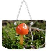 Tiny Orange Mushroom Weekender Tote Bag
