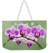 Tiny Orchid Faces Weekender Tote Bag
