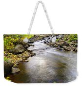 Tiny Rapids At The Bend  Weekender Tote Bag