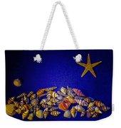 Tiny Sea Shells Weekender Tote Bag