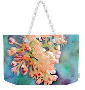 Tiny Spring Tree Blooms - Digital Color Change And Paint Weekender Tote Bag