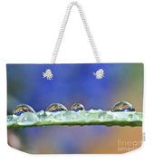 Tiny Waterworld And A Leaf Weekender Tote Bag