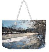 Tioughnioga River Landscape Weekender Tote Bag