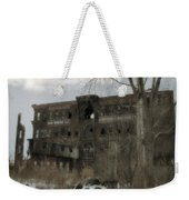 Where All The Tires Go Weekender Tote Bag