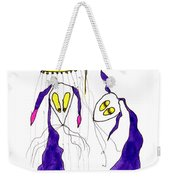 Tis Long Cold Shower Weekender Tote Bag by Tis Art