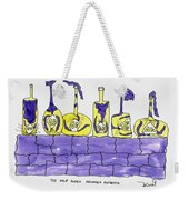 Tis Six Drunken Knights Weekender Tote Bag