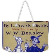 Title Page: First Edition Weekender Tote Bag