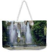 Tivoli Garden Fountain Weekender Tote Bag