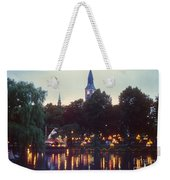 Tivoli Night Lights Weekender Tote Bag