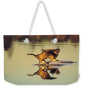 Tk0157, Thomas Kitchin Canada Geese Weekender Tote Bag