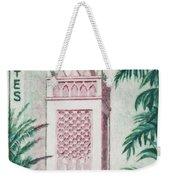 Tlemcen Great Mosque Weekender Tote Bag