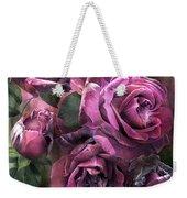 To Be Loved - Mauve Rose Weekender Tote Bag