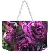 To Be Loved - Purple Rose Weekender Tote Bag