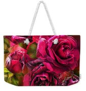 To Be Loved - Red Rose Weekender Tote Bag