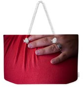 To Give A New Life Weekender Tote Bag