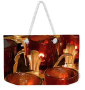 To Lite A Candle Weekender Tote Bag