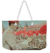 To Our Dear Stalin Weekender Tote Bag