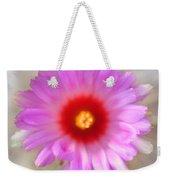 To Return To Innocence. Cactus Flower Weekender Tote Bag by Jenny Rainbow