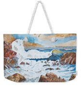 To Rough For Fishing Weekender Tote Bag