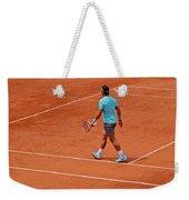 Rafael Nadal To The Baseline Weekender Tote Bag