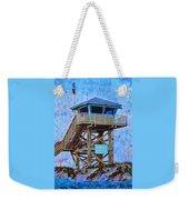 To The Beach Weekender Tote Bag by Deborah Boyd