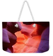To The Center Of The Earth Weekender Tote Bag by Inge Johnsson