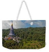 To The King And Queen Weekender Tote Bag by Adam Romanowicz