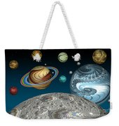 To The Moon And Beyond Weekender Tote Bag