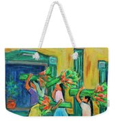 To The Morning Market Weekender Tote Bag