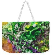 To The Unknown Abstract Path Number Four Weekender Tote Bag