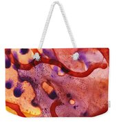 To The Unknown Abstract Path Number One Weekender Tote Bag