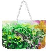 To The Unknown Abstract Path Number Six Weekender Tote Bag