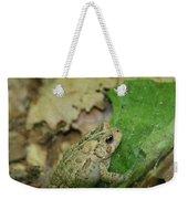 Toad Under Cover  Weekender Tote Bag