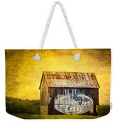 Tobacco Barn In Kentucky Weekender Tote Bag